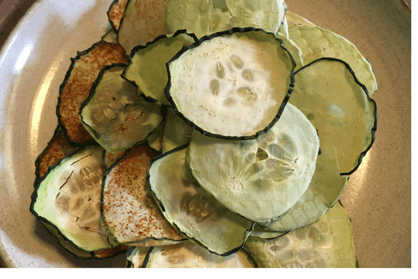 SOUR CREAM AND ONION CUCUMBER CRISPS