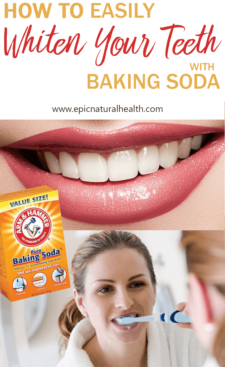 How To Whiten Your Teeth And Remove Stains With Baking Soda Lemon
