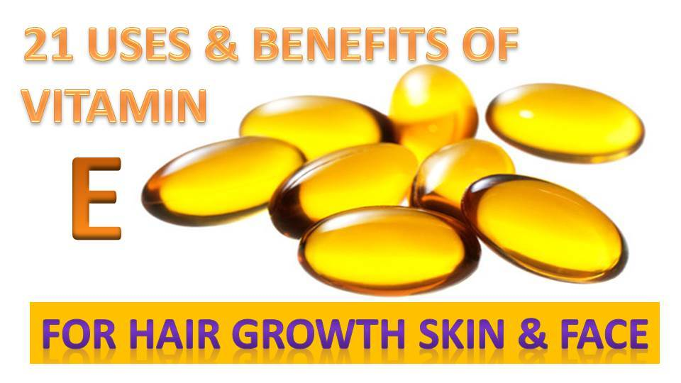 21 Amazing Vitamin E Uses Benefits For Hair Growth Skin Face Epic Natural Health