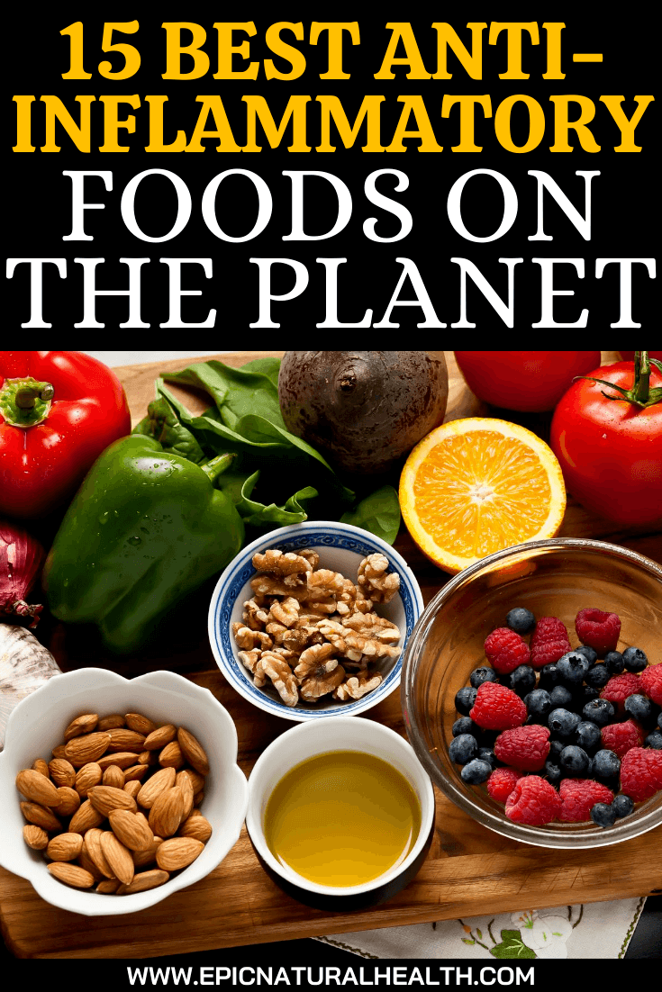 15 Best Anti-inflammatory Foods on the Planet