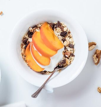 Eat smaller meals to avoid bloating