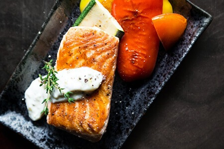 Heart, skin, and brain health benefits from the nutrients from salmons