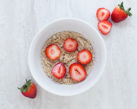 Oatmeals are easy to include in meals