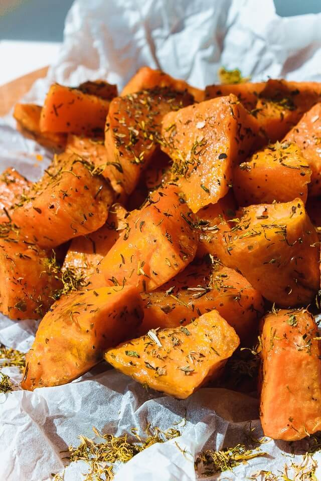 Sweet Potato Caserole for Protein