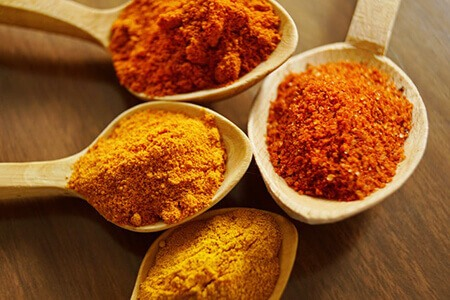 Turmeric are effective at treating digestive disorders