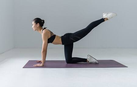 Yoga can help reduce bloating
