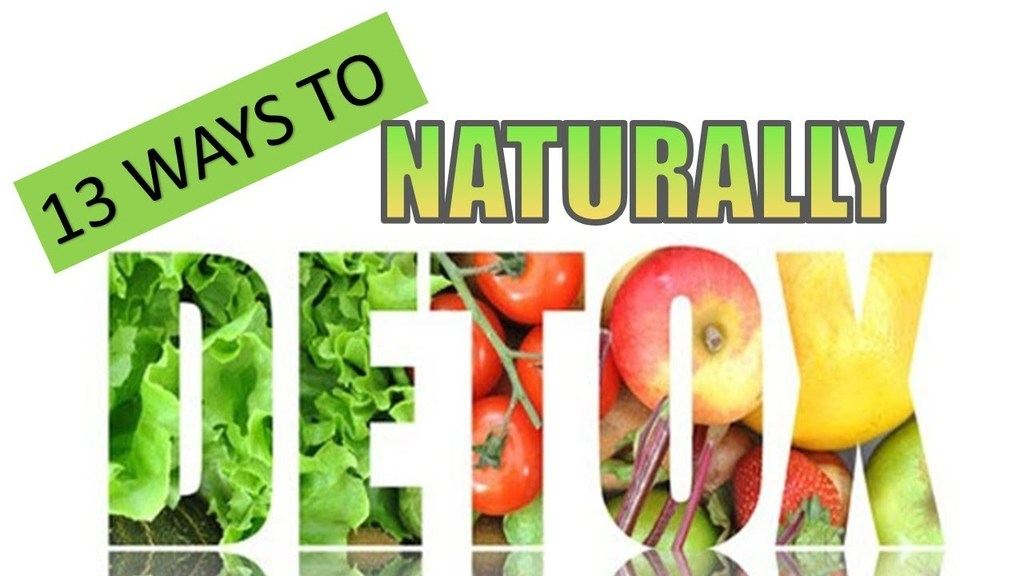 13 ways to naturally detox