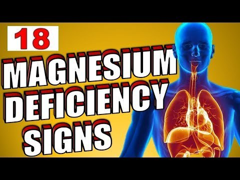 18 magnesium deficiency signs