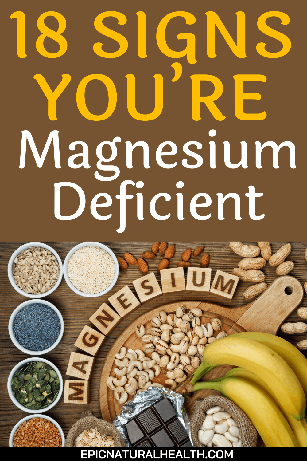18 signs you're magnesium deficient