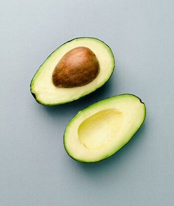 Avocados are high in fibre and magnesium
