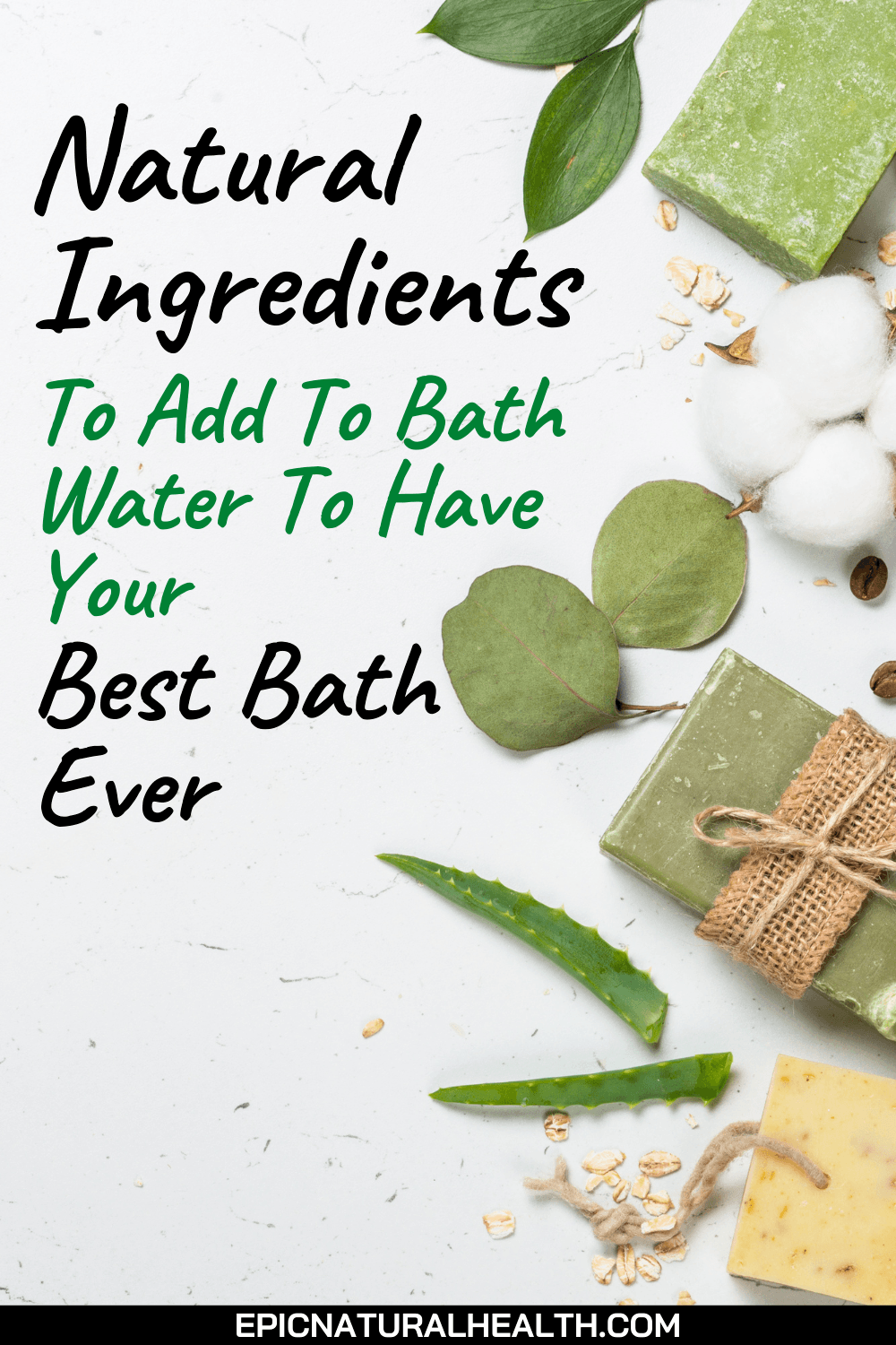 Ingredients to add to bath water to have your best bath ever
