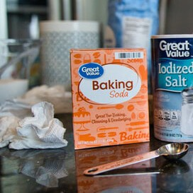 Baking soda is a natural exfoliator