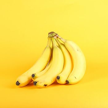 Banana has vitamins A,B, and E that are good for your skin