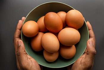 Eggs are often recommended as a part of a mental health boosting diet