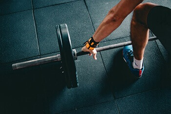 Exercise can help the body limit and reduce sweat in normal