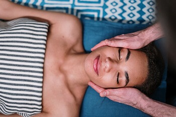 Facial massage is the simplest and most natural method of lifting, toning your face and your neck
