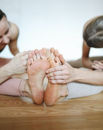 Give foot exercises a go