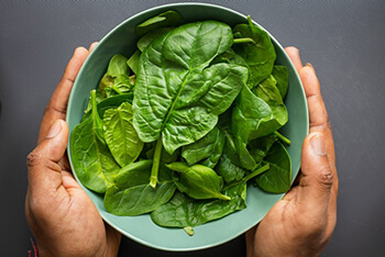 Healthy plant-based food rich in vitamin c and flavonoids