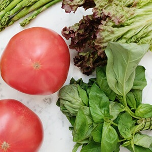 Leafy vegetables are rich in anti-oxidants