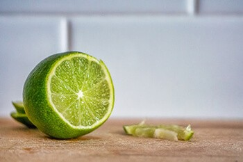 Lime is actually just as effective as chewing nicotine gum