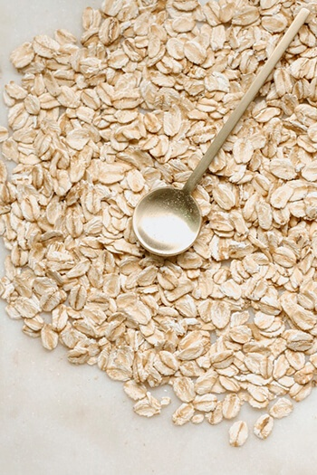 Oats can increase water content in the digestive tract, helping food move more quickly through the colon