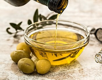 Olive oil can also help maintain the collagen in your skin