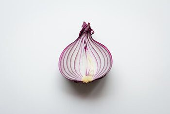 Onion contain an antimicrobial compound called allicin