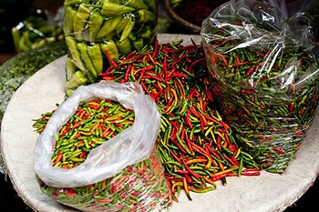 Spicy foods can relieve pain