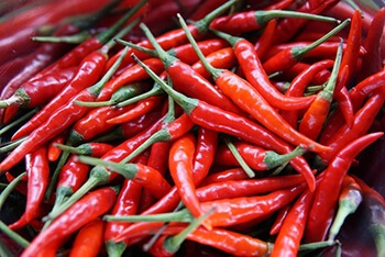 Spicy foods can temporarily boost your resting metabolic rate
