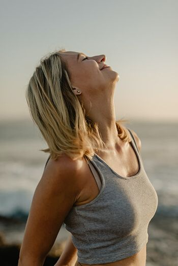 deep breathing can help deliver more oxygen to the body