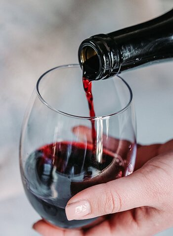 resveratrol can be found in red wine and red grapes