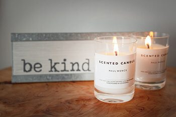 scented candles is a quick short term solution for odors