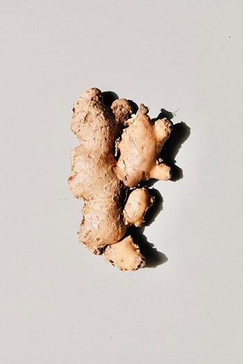 Ginger helps improve breathing and can help remove cigarette toxins from your lungs