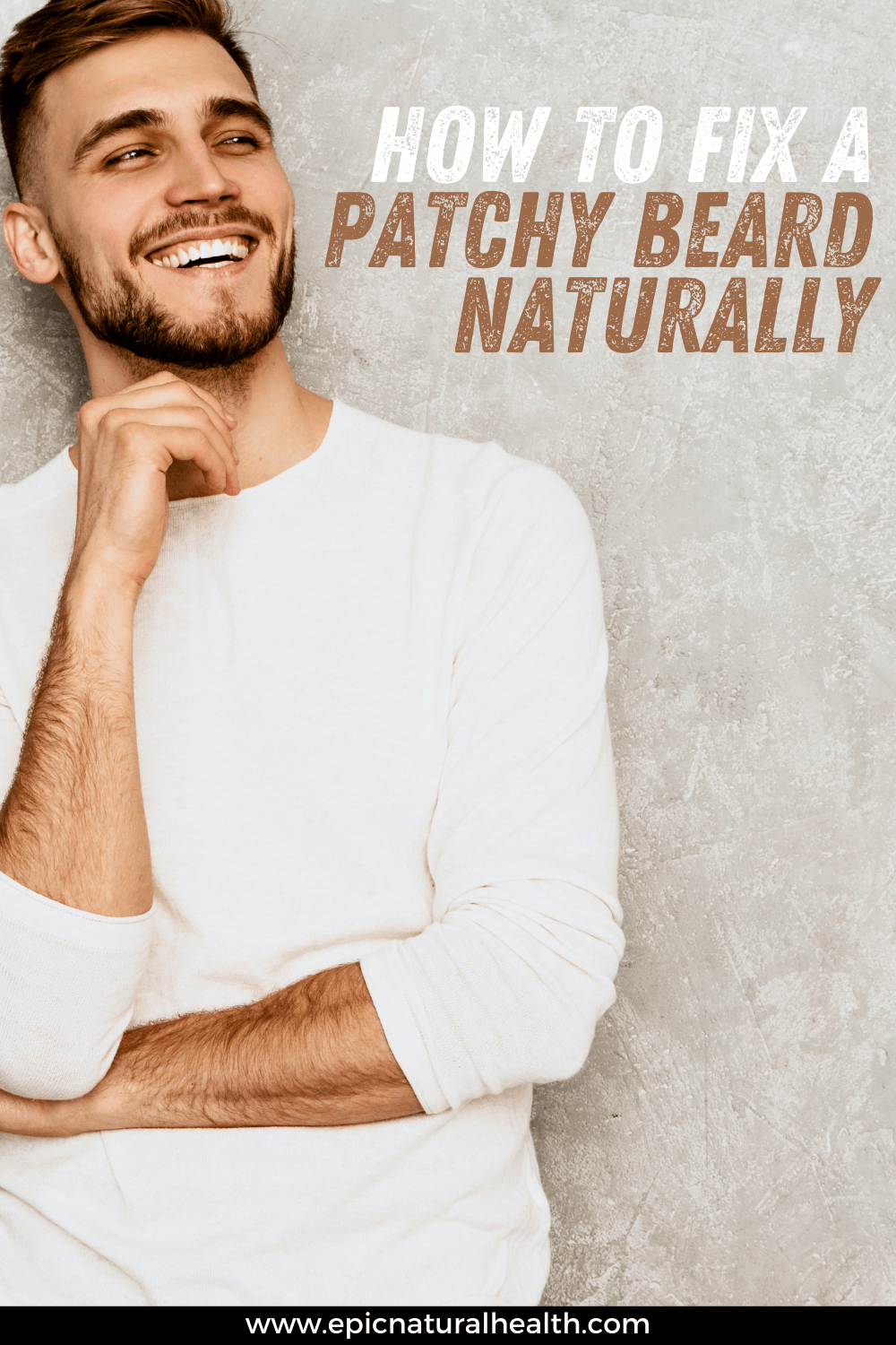 How to fix a patchy beard naturally