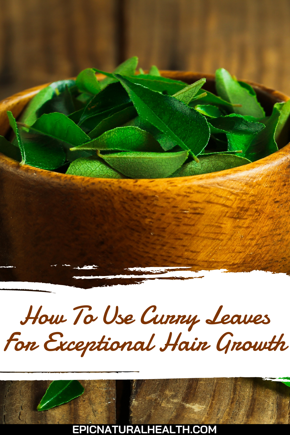 How to use curry leaves for exceptional hair growth