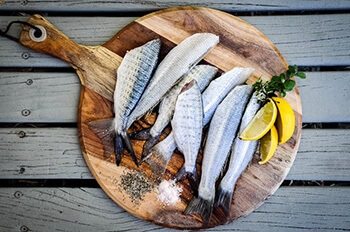 Increase your protein intake by eating fish