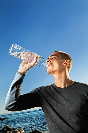 Keep your body hydrated to produce enough moisture to encourage faster growth
