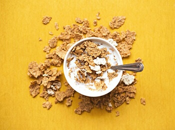 Replace breakfast cereals with whole grains