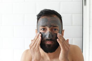 Skincare treatment using activated charcoal