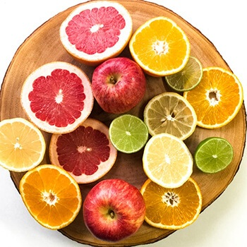 Vitamin C in citrus fruits can help build up your immune system