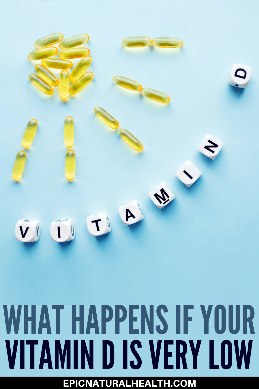 What happens if your vitamin D is very low