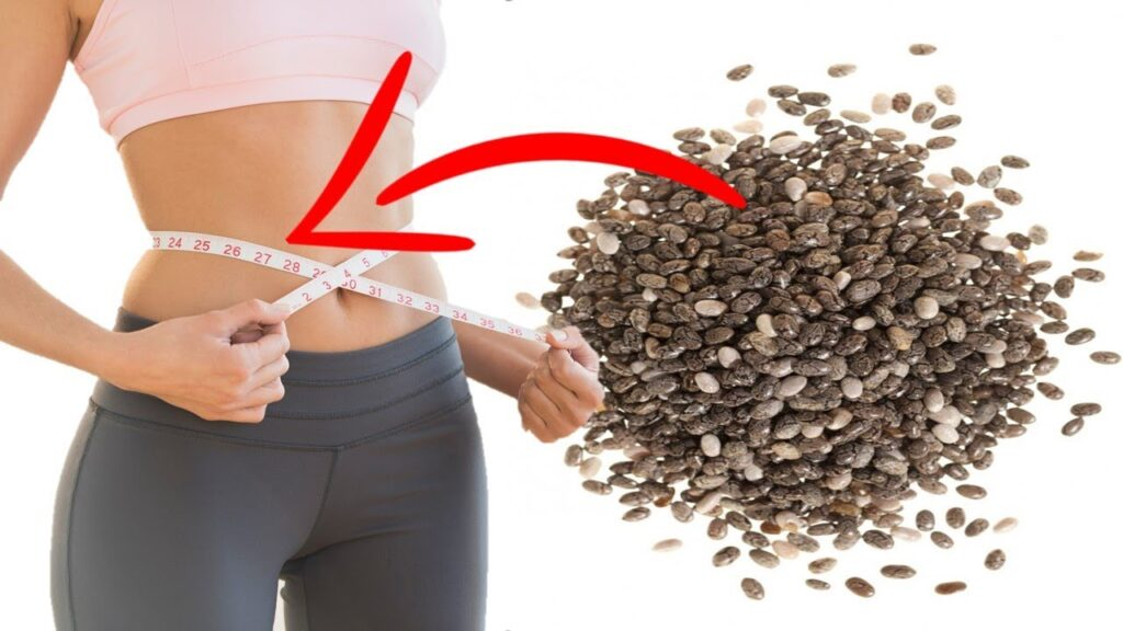 chia seeds for weight loss image