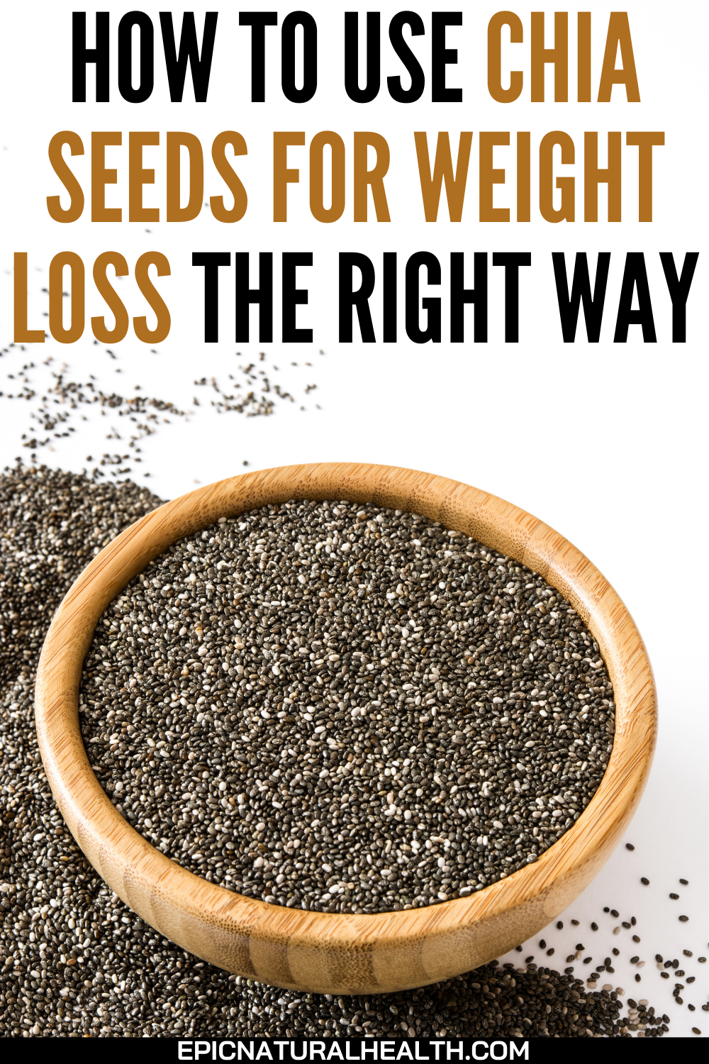 chia seeds weight loss pin