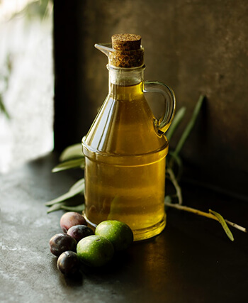 olive oil can be used as a daily skin massage to combat dry or flaky skin caused by harsh weather