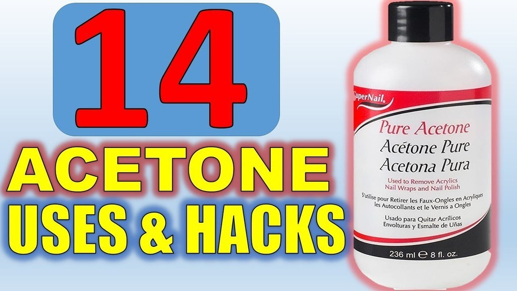 14 Acetone uses and hacks