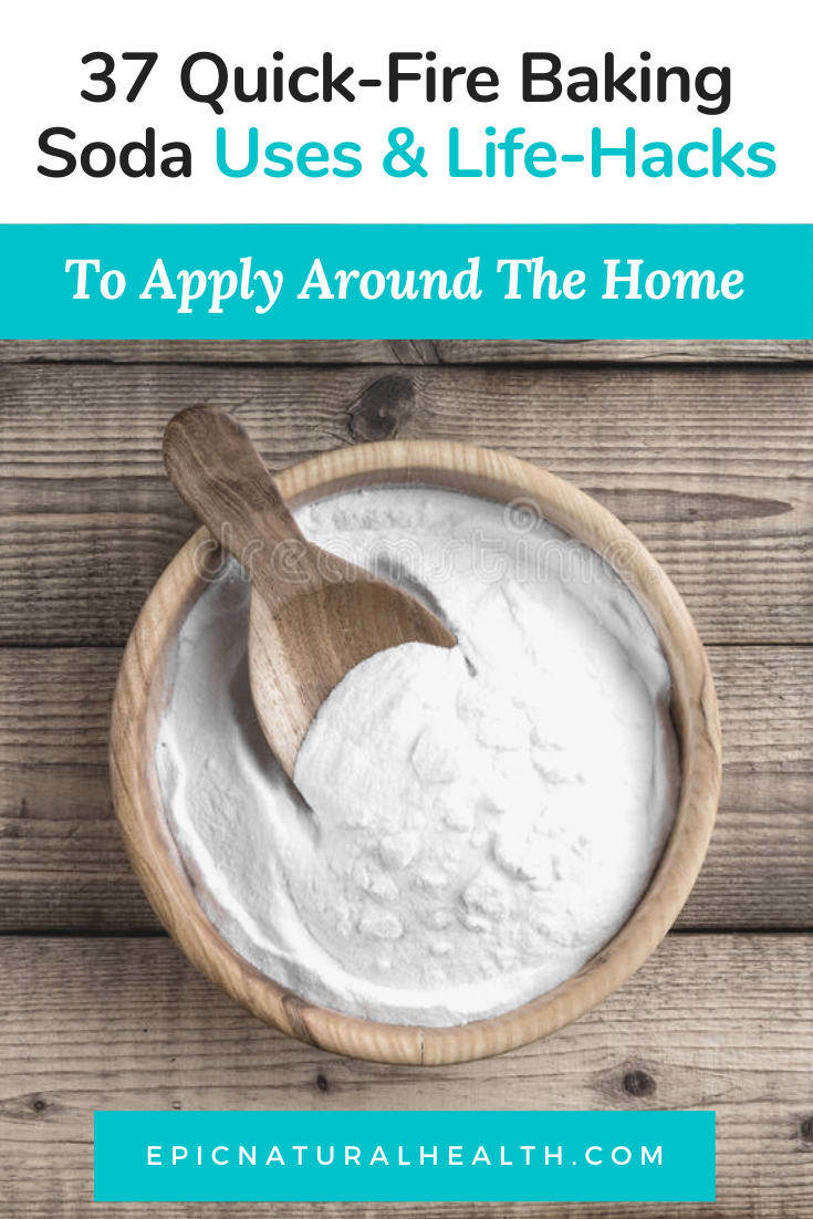 Baking soda uses and life-hacks