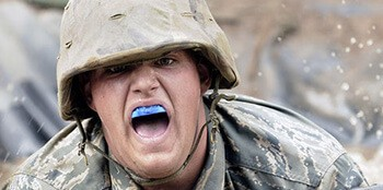 Consider using a custom-made mouth guard