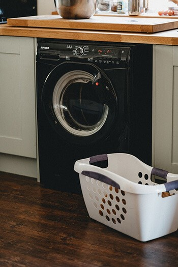 Freshen up your laundry by cleaning your washing machine using diluted zoflora