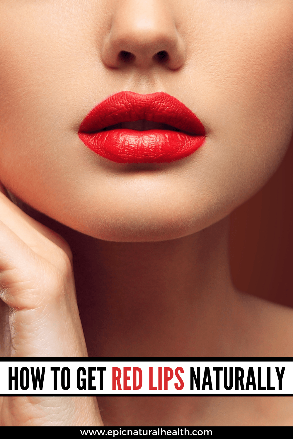 How to get red lips naturally