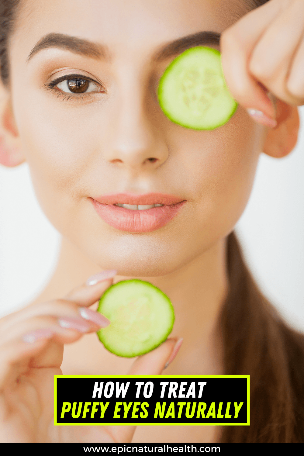 How to treat puffy eyes naturally